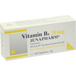 VITAMIN B 6 20MG JENAPHARM
